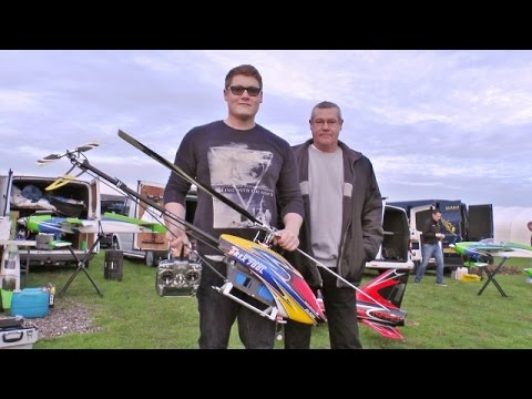 RC ALIGN T-REX 700 DOMINATOR L TOP 3D EP HELICOPTER - ANDREW WOOD - 2015