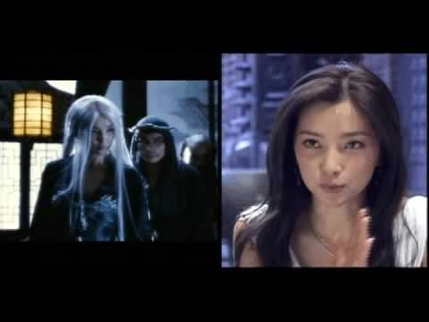 Li Bing Bing as the White Haired Demoness in Forbidden Kingdom