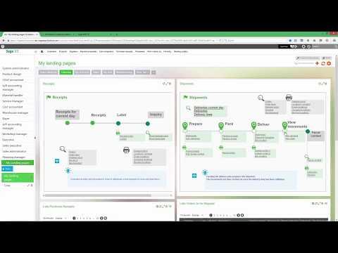 Sage Enterprise Management - Leverage Visual Process Maps