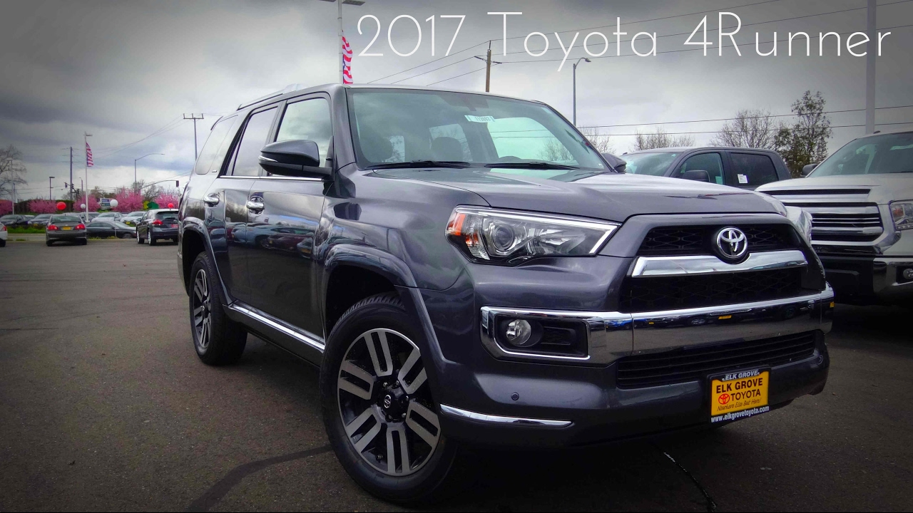 2017 toyota 4runner limited 4 0 l v6 review youtube 2017 toyota 4runner sr5 premium interior