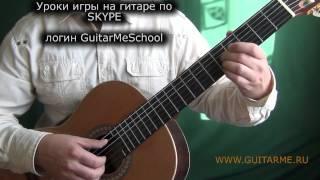 ЛЕЗГИНКА на гитаре - ВИДЕО УРОК 1/3 . Как играть лезгинку на гитаре