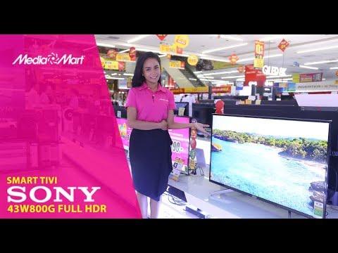 Smart Tivi Sony 43 inch 43W800G – Hàng mới năm 2019