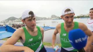 Irish Rowers Gave The Funniest TV Interview At Rio Olympics 2016