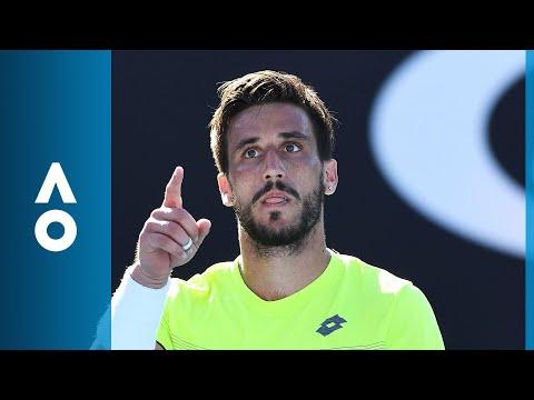John Millman v Damir Dzumhur match highlights (2R)   Australian Open 2018