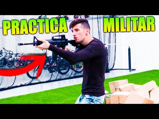 ENTRENANDO COMO UN MILITAR !! PRACTICA MILITAR Makiman