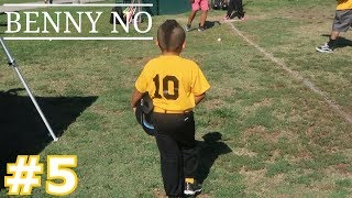 MOHAWK KID CRUSHES THE BALL | BENNY NO | COACH PITCH/TEE BALL SERIES #5