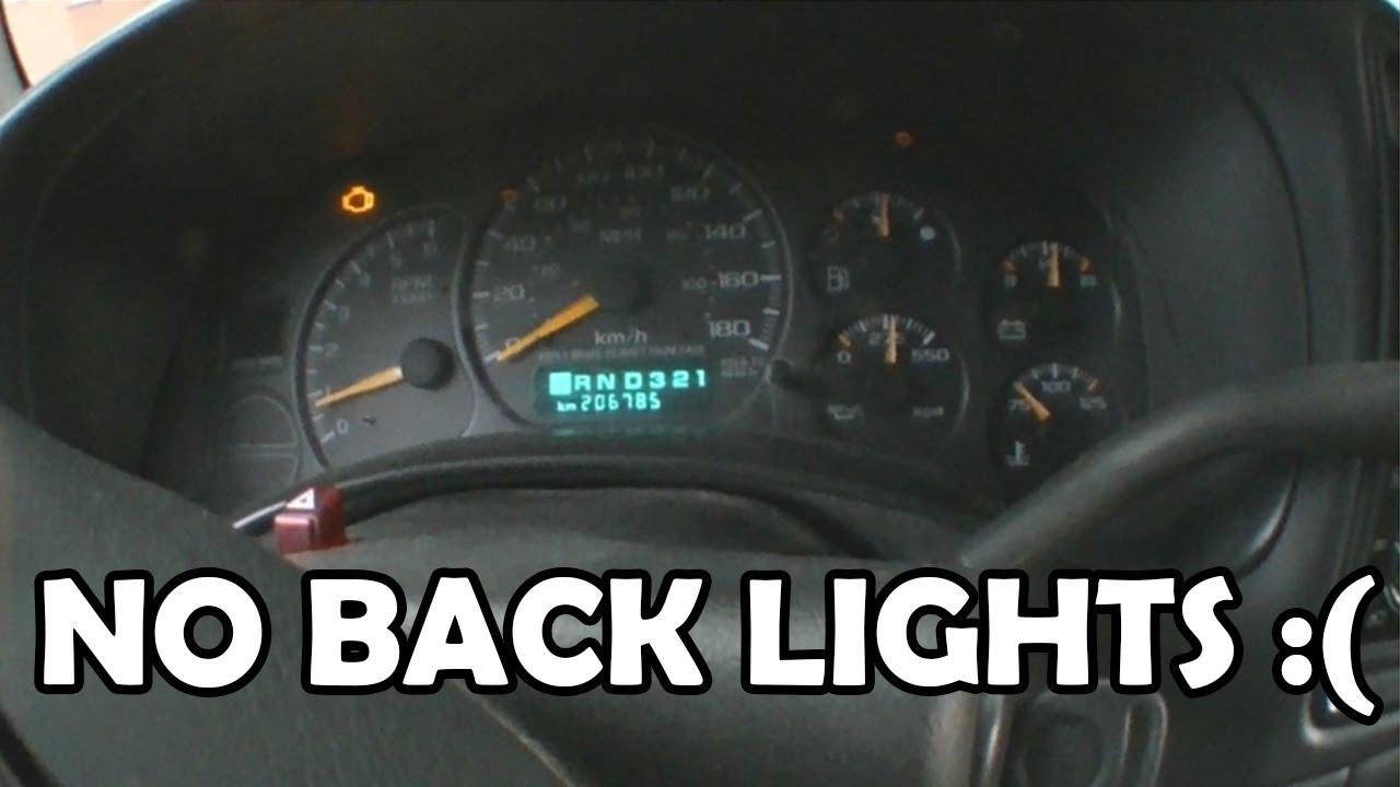 2007 Chevrolet Express 3500 Fuse Box 2001 Gmc Sierra Instrument Cluster Wont Light Up Youtube