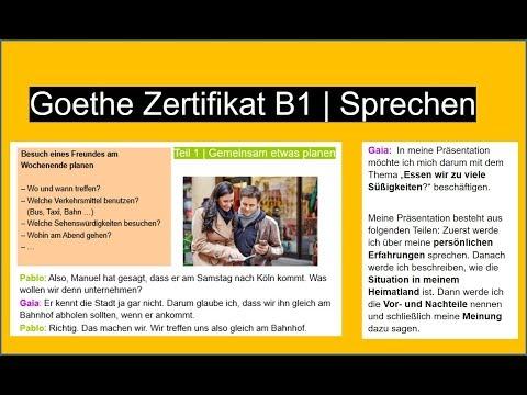 Grenzenlosci On Goethe Zertifikat B1 Hören German Listening Exam