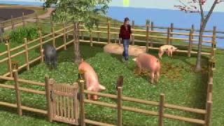 Sims Farm Pig