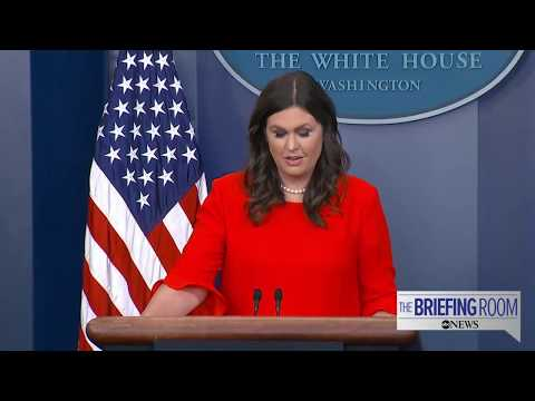 White House press briefing 07/21/17 following Sean Spicer's resignation
