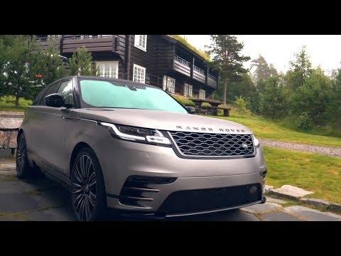 8 главных фишек нового Range Rover Velar | Обзор