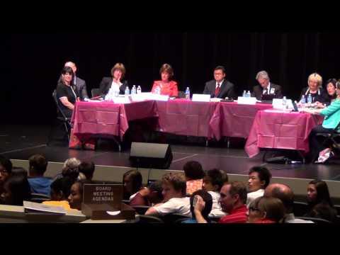 Arcadia School Board Meeting Speech