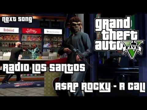 GTA V: A$AP Rocky - R Cali (Radio Los Santos) - Free MP3 DL Link