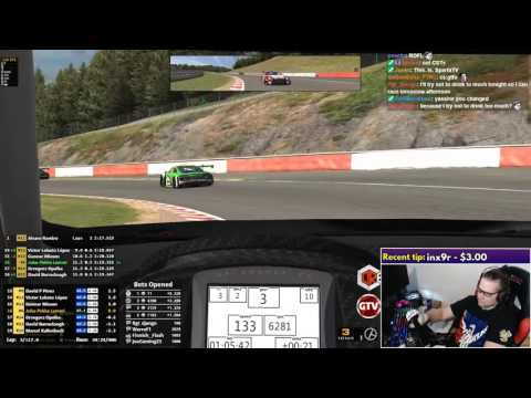 iRacing: Blancpain Sprint Series - Audi R8 in Spa-Francorchamps