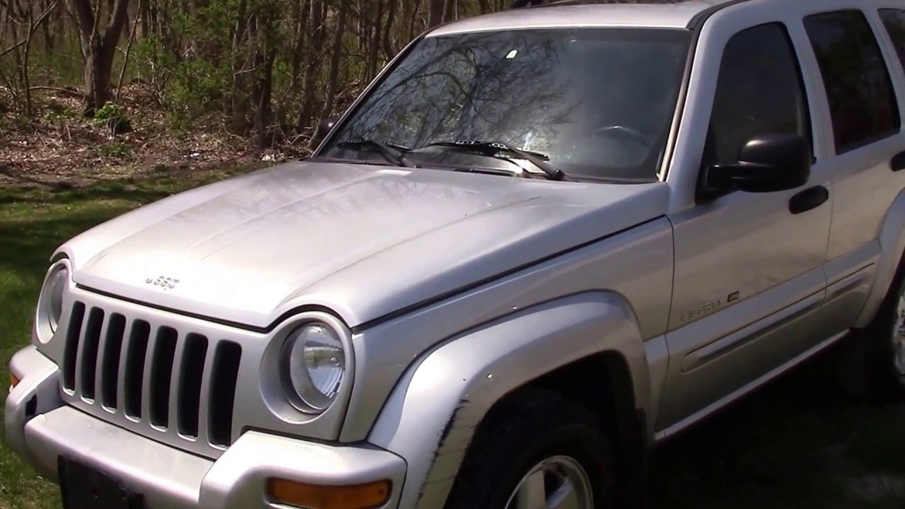 2003 jeep liberty limited 4x4 silver for  - youtube
