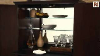 B. Smith Home Bar Cabinet Base T2047274-00b By Hammary Furniture