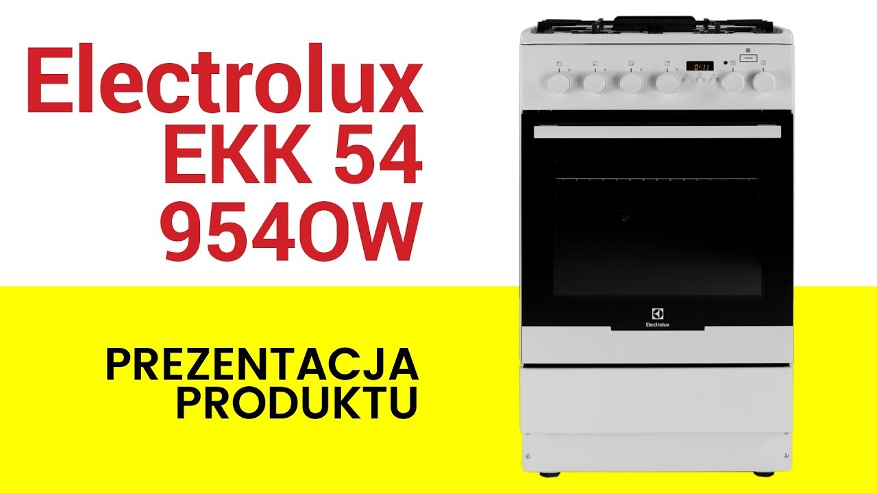 Kuchnia Electrolux Ekk54954ow Plussteam Youtube