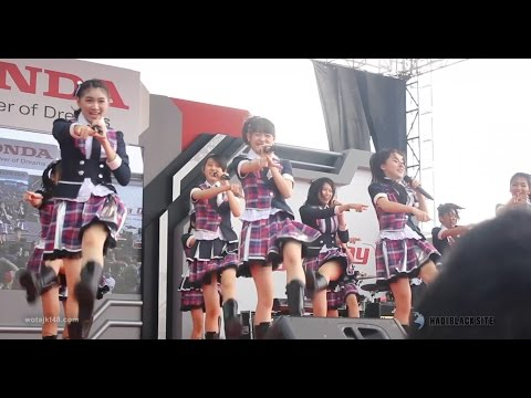 [FANCAM] JKT48 - Suki Suki Skip, Shoujotachi Yo @ Honda Day, ICE BSD 29-10-2016