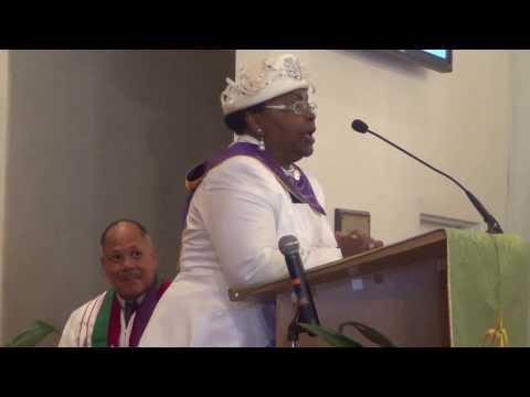 Marion Walker Introduced Her Husband Rev. Dr. John L. Walker, Sr. 09-29-13.