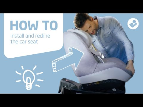 Maxi-Cosi | Pearl Pro I-Size & Pearl Pro 2 | How To Install And Recline The Car Seat