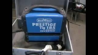BlueWeld Nufuzi 185 Tig. Ta'mirlash profilaktika.