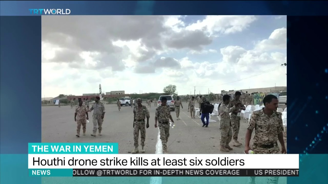 Yemen's Houthi drones strike military parade, at least six soldiers