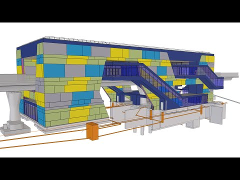 Tekla BIM Awards France 2020 : GUILLERM - Station Beaulieu