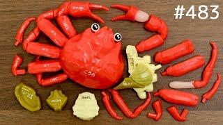 蟹!カニ!かに!ズワイガニ解体パズル / Snow Crab Dissection Puzzle. Japanese Toy