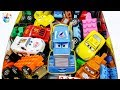 Learning Color disney cars and lego car transforming full Box Play toys funny video for kids
