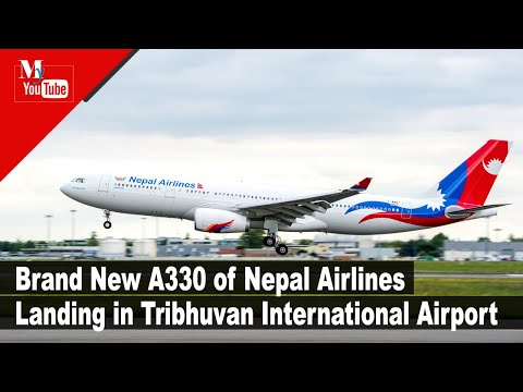 First Airbus A330-200 of Nepal Airlines landing Nepal