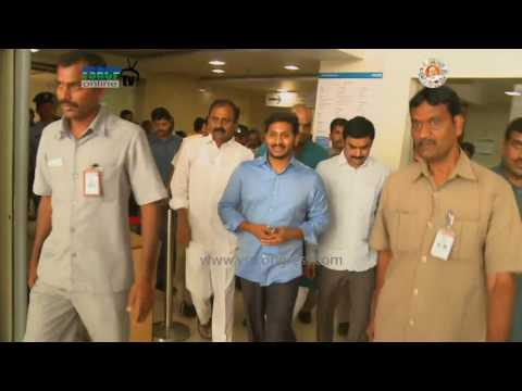 YS Jagan Visits KIMS Hospital to enquire on Dasari Narayana