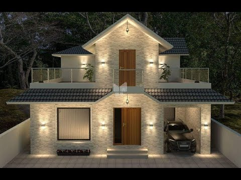 Top 20 kerala house model low cost beautiful kerala for Design casa low cost