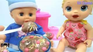 BabyBus - Tiki Mimi và Trò Chơi máy làm kem siêu tốc