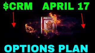 HOW TO BUY OR TRADE OPTIONS FOR 100% TO 300% GAINS $CRM APRIL 17(, 2017-04-17T23:51:52.000Z)