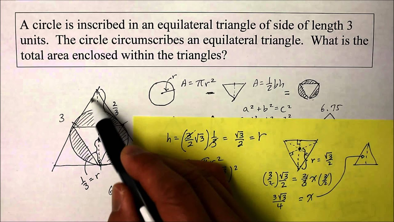 902 ge part 2 find the radius of a circle inscribed inside a 902 ge part 2 find the radius of a circle inscribed inside a triangle ccuart Images