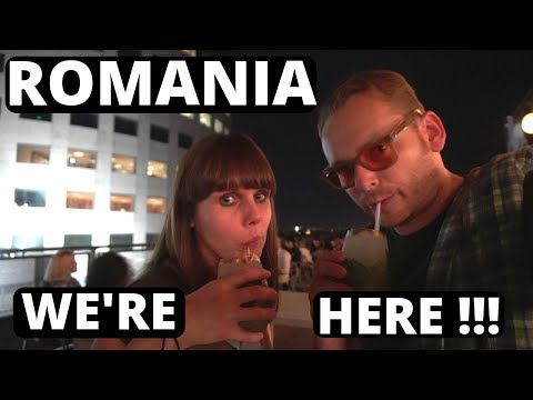 Foreigners Travelling To ROMANIA For The FIRST TIME - BUCHAREST We have arrived
