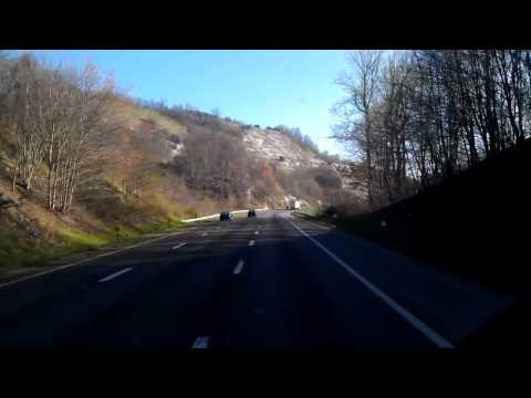 Interstate 77 North Climbing Fancy Gap, Virginia