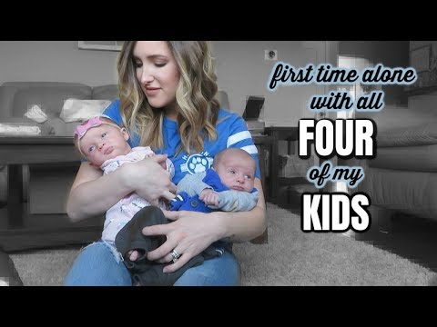 Becoming A Daily Vlogger?   DITL WITH 4 KIDS!