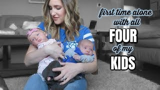 Becoming A Daily Vlogger? | DITL WITH 4 KIDS!