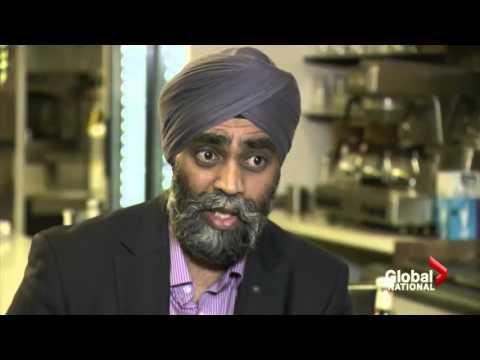 Global News Profiles Defence Minister Harjit Sajjan