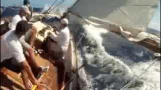 Training footage from USA16 Dorade, Matt Brooks' S&S 52 Yawl.