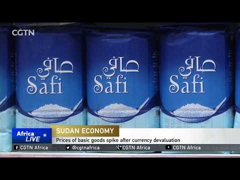 Prices of basic goods spike in Sudan after currency devaluation