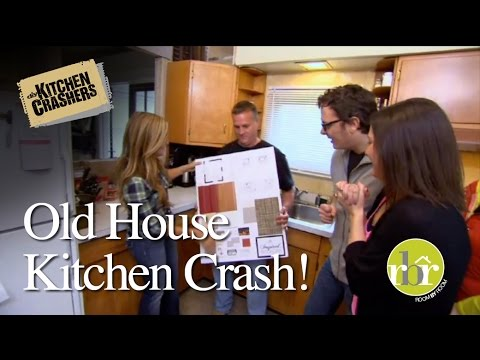 HGTV Kitchen Crashers - Old House, Newlywed Kitchen