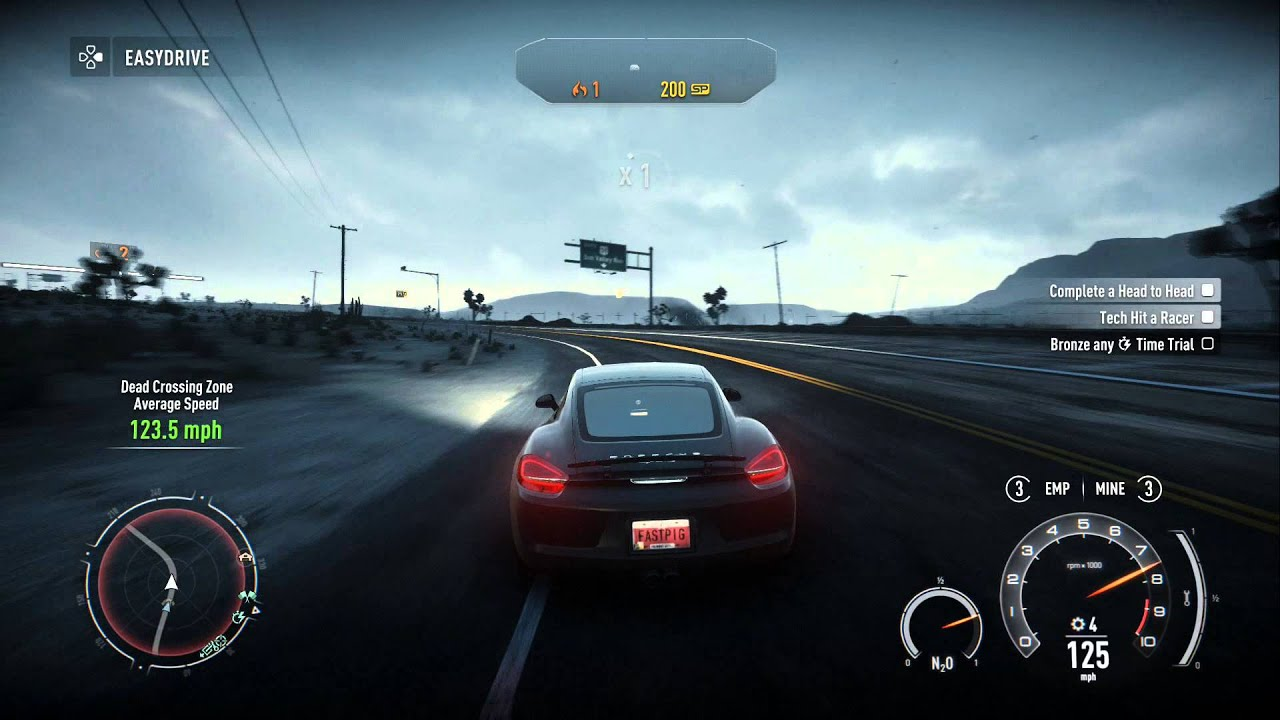 Need for speed rivals ps4 gameplay