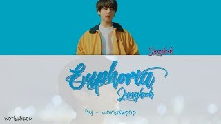 BTS JUNGKOOK - EUPHORIA * KOLAY OKUNUŞ+MV(EASY LYRICS)COLOR CODED