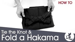How to Fold a Hakama - Aikido Hakama Folding Guide - 2 Ways - Very detailed (w/ subtitles)