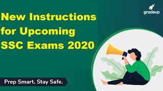 Latest SSC Exam Centre and Exam Day Official Guidelines and Instructions
