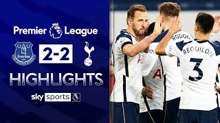 Harry Kane & Gylfi Sigurdsson star in thriller ⭐| Everton 2-2 Tottenham | EPL Highlights
