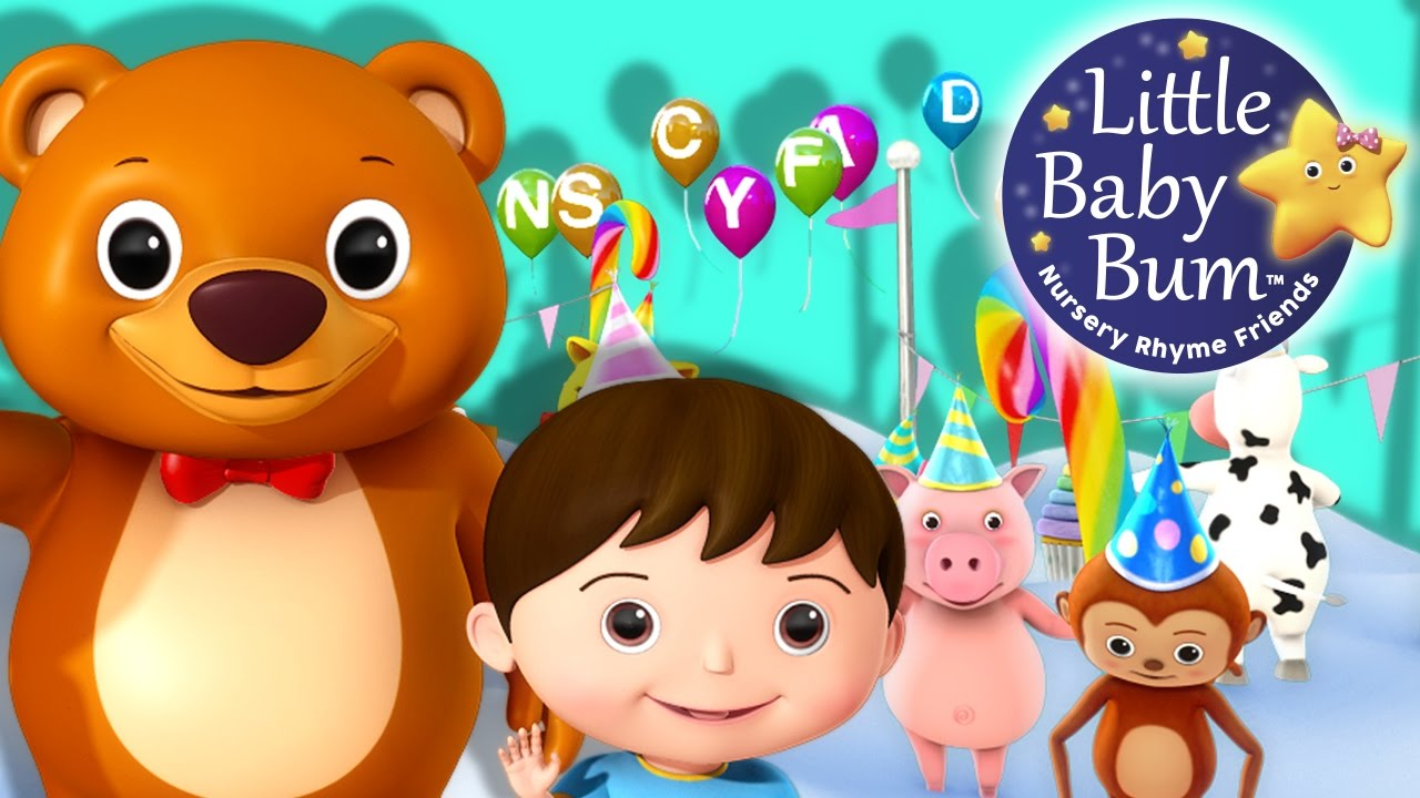 ABC Song Alphabet Party | Little Baby Bum | Nursery Rhymes ...
