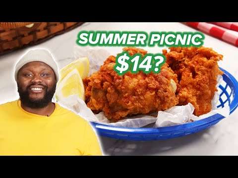 I Tried To Make A Picnic For 2 For $14 • Tasty